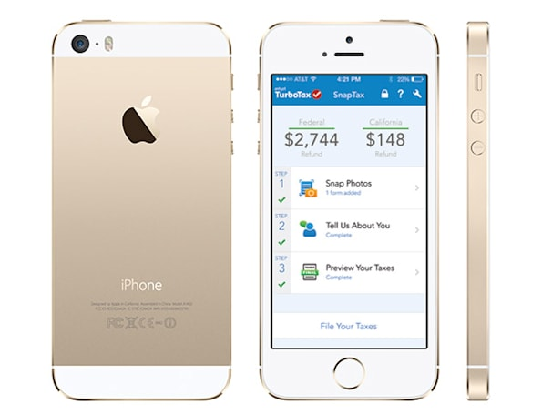 Engadget giveaway: win an iPhone 5s courtesy of TurboTax!
