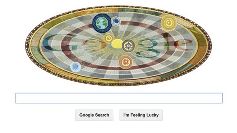 Happy 540th Birthday, Copernicus, have a Google Doodle