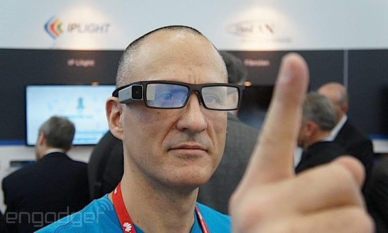 Lumus and eyeSight deal brings gesture control to DK-40 smart glasses hand-on