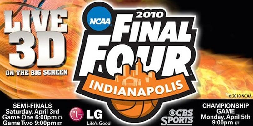 Final Four basketball in 3D is the closest thing to being there