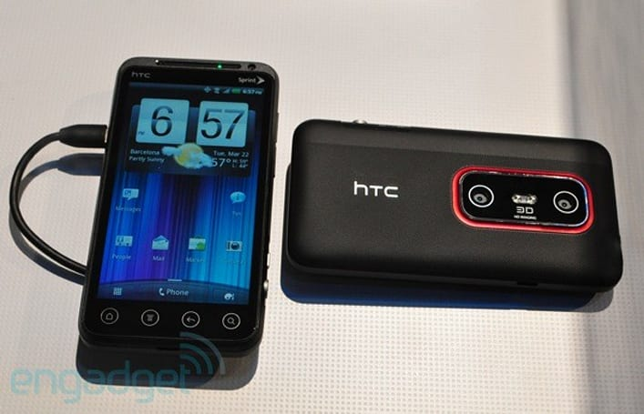 HTC EVO 3D officially announced for Sprint