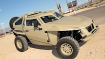 DARPA's XC2V FLYPMode crowd-sourced combat vehicle revealed, now in desert khaki (video)