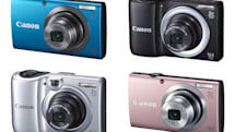 Canon unveils new PowerShot A-Series cameras, brings image stabilization to its entry-level
