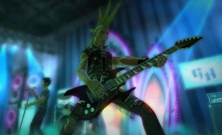 Guitar Hero franchise tops the charts for '08 (so far)