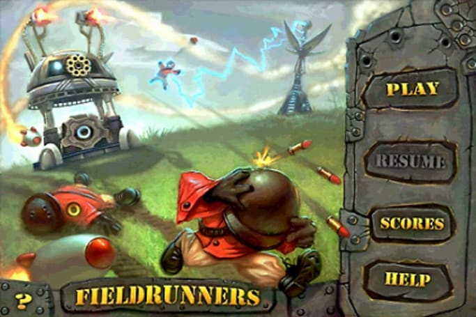 Fieldrunners: DTD for iPhone