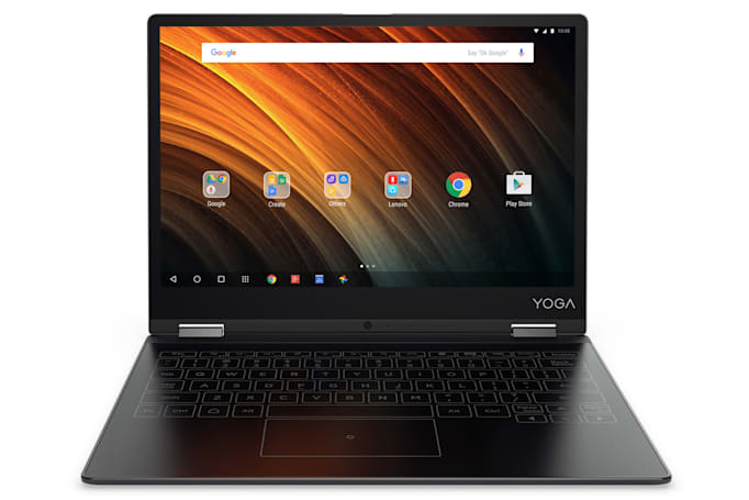 联想 Yoga A12 是款平价的变形 Android 笔记本(更新:国行售价)