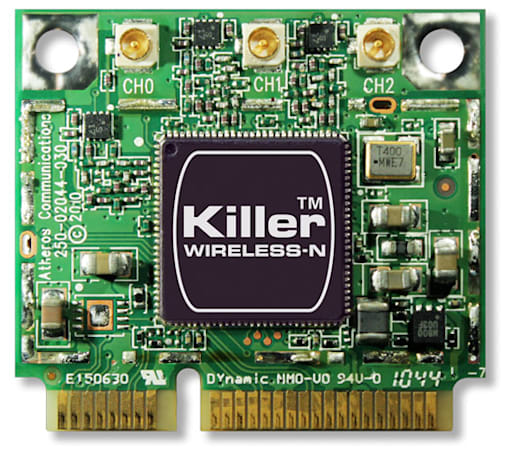 Bigfoot brings Killer bandwidth management to laptops via Wireless N module