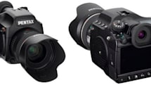 Pentax gets official with 40 megapixel 645D medium format camera