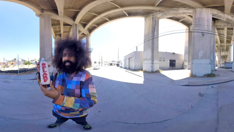 Reggie Watts made a weird comedy just for VR