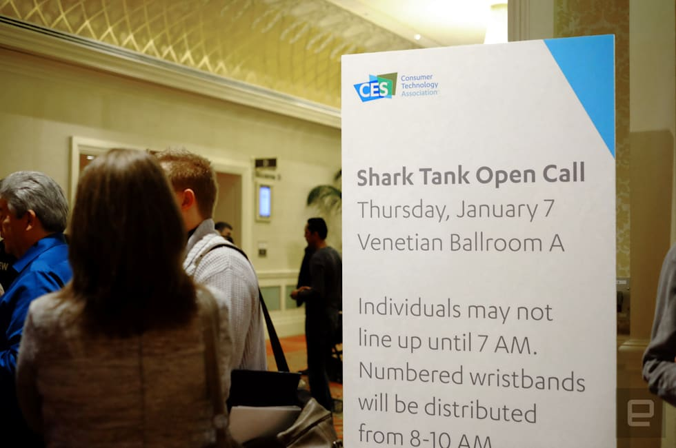 At the CES 'Shark Tank' open call, the optimism is infectious