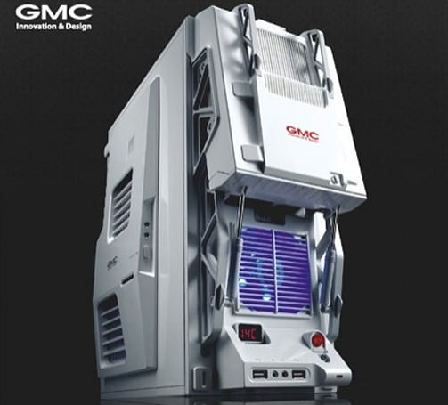 Video: Hands-on with the GMC Bulldozer R4 computer case