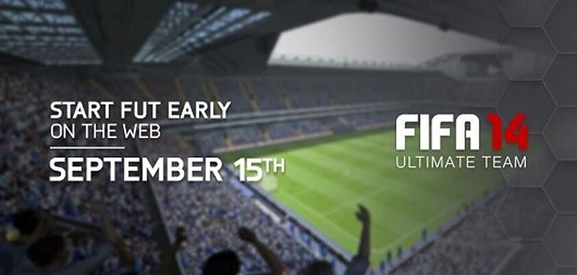 Get a head start on your FIFA 14 Ultimate Team on September 15