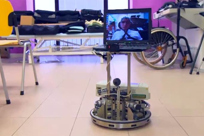 Mind-controlled robot gives the disabled a taste of home