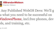 Microsoft woos webOS developers with free phones, training