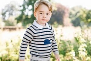 Adorable New Photos Mark Prince George's 3rd Birthday