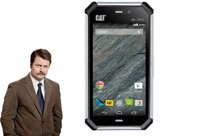 CAT's next phone is so rugged we're surprised it doesn't have a beard