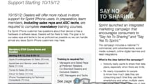 Sprint training docs cast doubt on 2012 iPhone launch timing, but don't panic yet