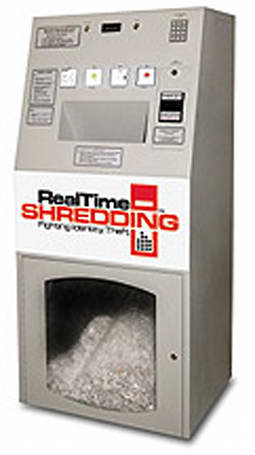 Self-Service Shredder kiosk enables pay-per-use shredding