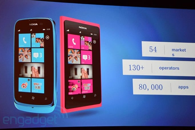 Nokia Lumia devices now present in 54 markets, 44 percent of Windows Phone apps available in China (updated)