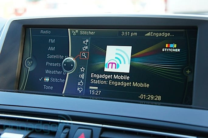 BMW launches Stitcher integration at SXSW (hands-on video)