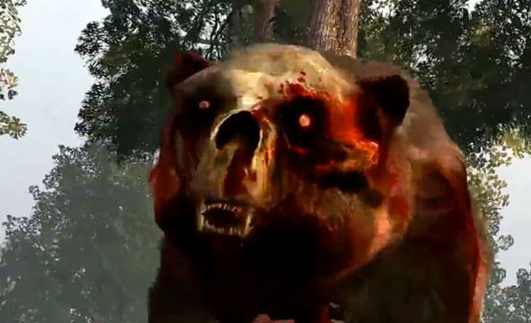As if you needed an explanation for this Zombie Bear