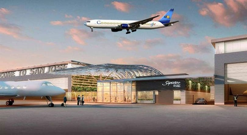 Private airport terminal for Google's jets approved by city of San Jose