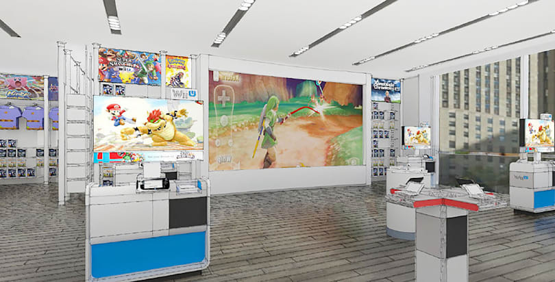 Nintendo is renovating its one-of-a-kind New York store