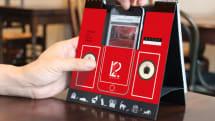 iPhoneのサウンドがまろやかに?スピーカー機能付き卓上カレンダー『BOOZS』