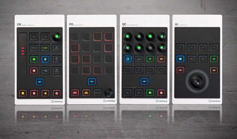 Steinberg CMC modular USB controllers, stack 'em how you want 'em (video)