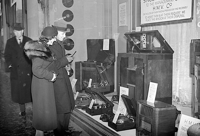 HMV goes bankrupt after 91 years in the disc-selling business