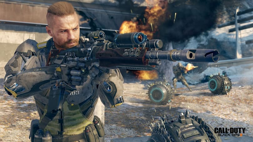 Playdate: Answering the 'Call of Duty' in 'Black Ops III""