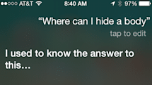 Free legal advice: don't ask Siri where to hide a body