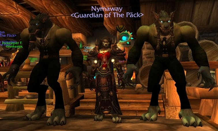 All-worgen guild runs wild across Azeroth
