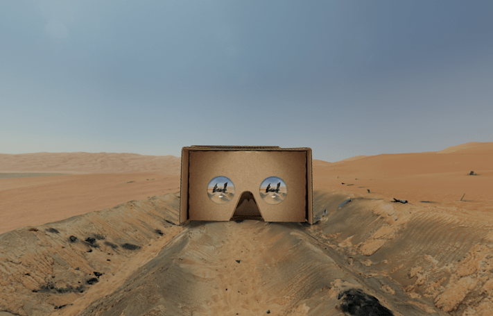 The 'Star Wars' VR experience for Google Cardboard is here