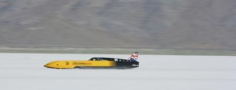 "Diesel-powered ""car"" edges on half the speed of sound"
