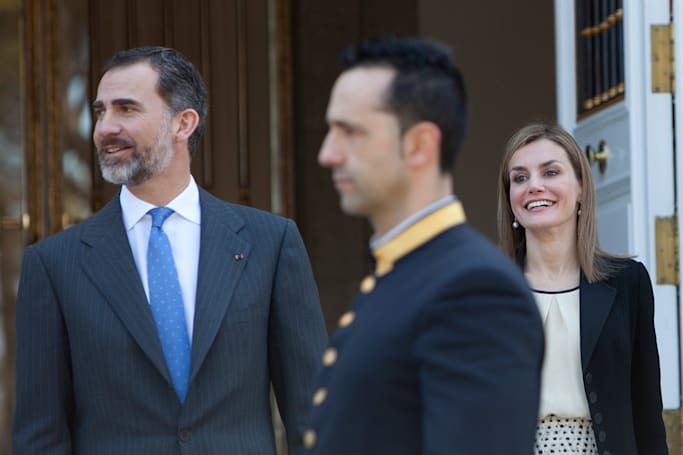 Drones are pestering Spain's royal family
