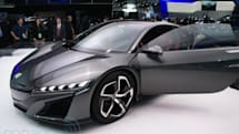Acura unveils updated NSX concept, has one V6 and three electric motors (eyes-on)