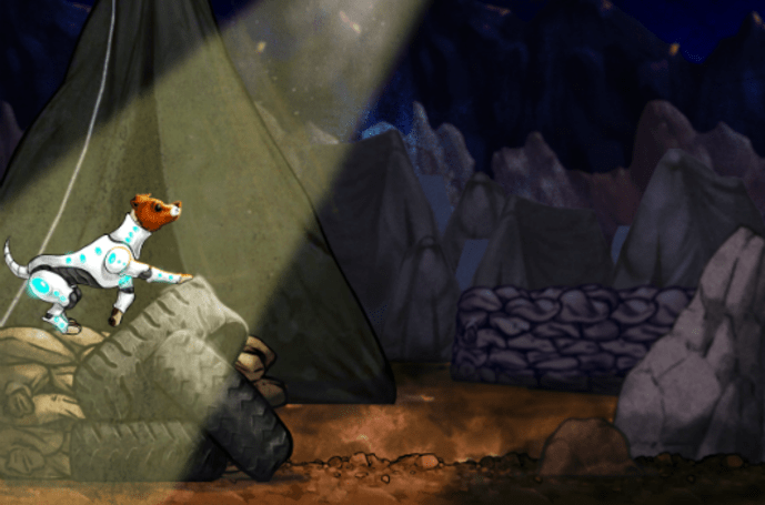 Russian space dog Laika's 'The Sun at Night' launches Feb. 4