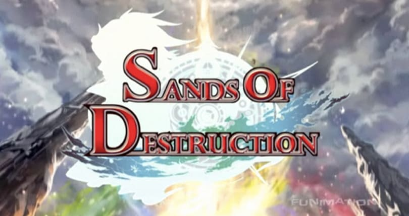 Watch the Sands of Destruction anime online right now
