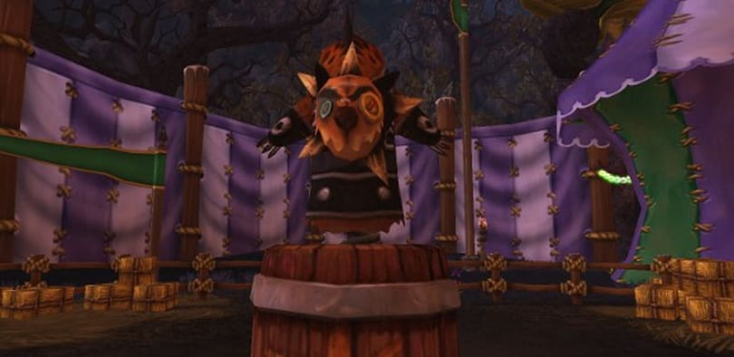 Don't forget that the Darkmoon Faire is live, too