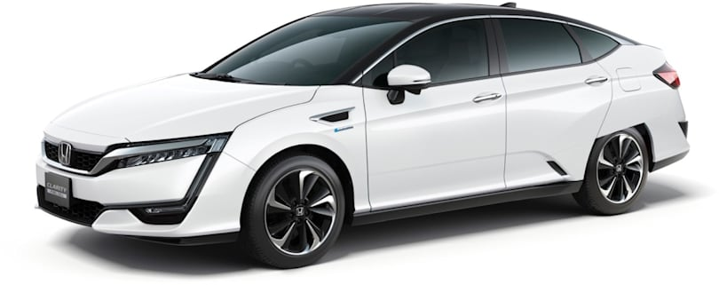 Honda Clarity is your new fuel cell future vehicle