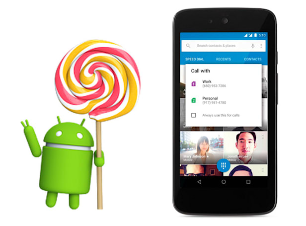 Android 5.1 arrives with HD calling and safeguards for stolen phones