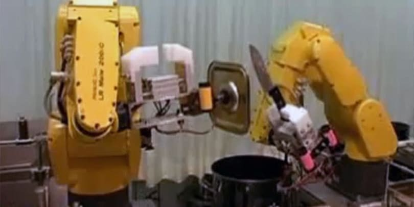 Video: Robots cook delicious ramen noodles for expendable humans