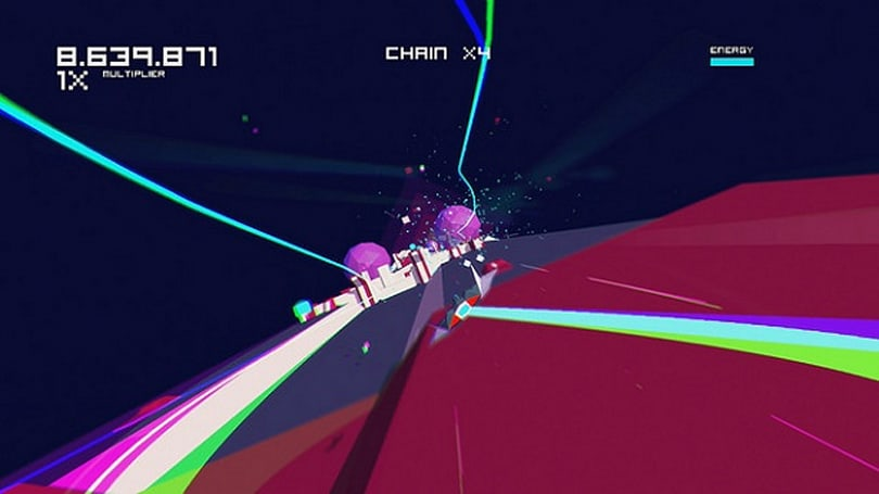 Colorful rail shooter Futuridium jets to PS4, Vita next week