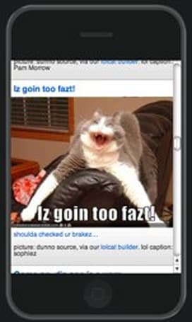 iLolcats on your iPhone