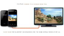 Nexus 4 boasts SlimPort support for tethered display sharing
