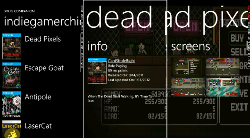 Indie devs launching XBLIG app for WP7 because MS hasn't