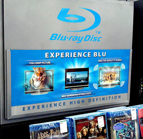 Walmart downsizing shelf space for music CDs, giving more to Blu-ray