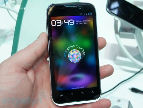 ZTE's quad-core Era hands-on (updated with video)