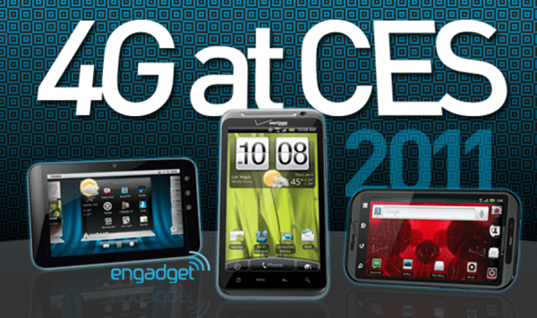 4G at CES 2011: AT&T, Verizon, and T-Mobile make big moves